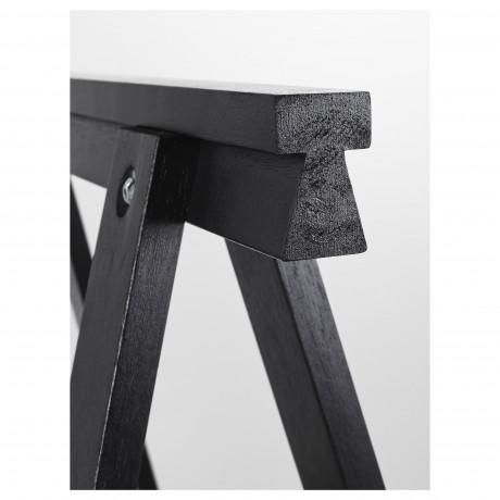 Опора для стола ОДВАЛЬД черный фото 2